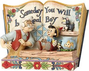 Disney Traditions Someday You Will Be A Real Boy Storybook Pinocchio Figurine …