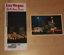 1977 Holiday Inn Las Vegas Brochure & Postcard Lot Vintage Casino Memorabilia