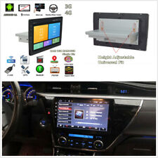 9'' 1DIN Android 8.1 Car Stereo Radio MP5 Player GPS Wifi 4G BT DAB Mirror Link