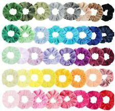 Various colours, Velvet Hair Scrunchies