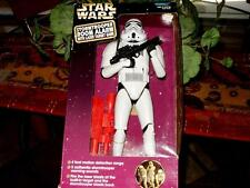 """Star Wars Stormtrooper 12"""" Room Alarm With Laser Target Game Rare 1997 NEW/BOXED"""
