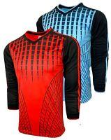 Soccer Goalkeeper Jersey, Goalie Long Sleeve Shirt For Kids And Adults