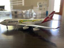 """Herpa 1/500 * Qantas Airways """"Socceroos"""" * B747-400 515597"""