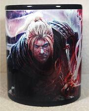 Nioh - Black Coffee Mug - Cup - 2 - Bloodborne - ninja gaiden