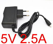 AC Converter Adapter DC 5V 2.5A Power Supply Charger EU plug 2500mA MICRO USB