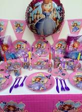 SOFIA THE FIRST PRINCESS PARTY SUPPLIES PACK PERFECT FOR 10 GUESTS-Express Post