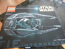 NEW Lego Star Wars #7181 UCS Tie Interceptor NEW Sealed VHTF