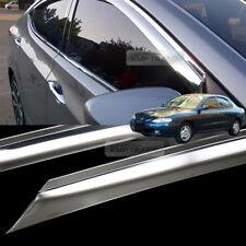 Stainless Steel Window Sun Vent Visor Rain Guards 4P For HYUNDAI 1996-01 Elantra
