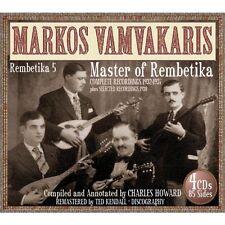 Markos Vamvakaris-rembetika 5 4 CD NUOVO