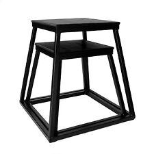 """Ader Black Plyometric Platform Set- 18 & 24"""""""