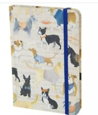 "Molly & Rex Hard Cover Journal/Note Pad ""DOG SHOW"" NEW"