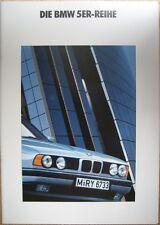 Prospekt BMW 5er E34 - 2/90 - 42 Seiten