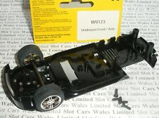 Scalextric - W9123 Nissan 350Z Drift Underpan / Front Axle (Silver Wheels) - NEW