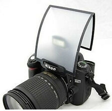 Universal Pop Up Flash Diffuser Soft Screen DSLR Nikon D3100 Canon 450 500 1000D