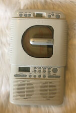 Systematic Home Shower Cd Player Am Fm Radio (Model #Scd-2001) Tested & Working