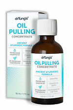 Dr Tung's OIL PULLING CONCENTRATE 1.7 oz ORAL HEALTH, TEETH WHITENING, DETOX