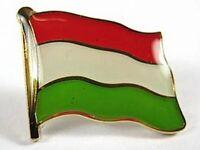Ungarn Flaggen Pin Anstecker,1,5 cm,Hungary,Neu mit Druckverschluss
