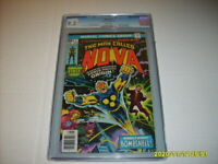 NOVA #1 CGC 9.2 White Pages Hot Key Comic Origin & First Appearance Of Nova 9/76