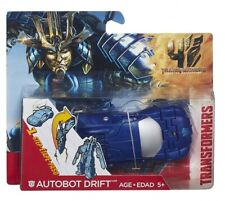 Transformers Age of Extinction Autobot Drift One-Step Changer