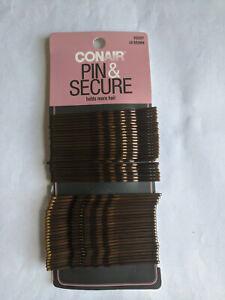 Conair Pin & Secure 48 Brown Bobby Pins - Extra Long