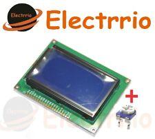 EL0490 LCD Grafico 128x64 12864 Display Modulo Azul Iluminado pantalla arduino