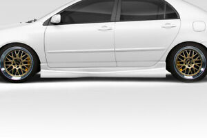 03-08 Toyota Corolla Target Duraflex Side Skirts Body Kit!!! 114686