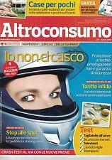 2009 04 - ALTROCONSUMO - 04 2009 - N.225 - IO NON CI CASCO