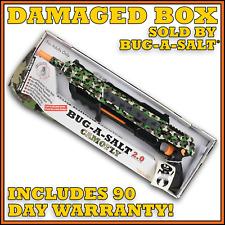DAMAGED BOX BUG-A-SALT 2.0 CAMOFLY, Never used, Full Manufacturer Warranty
