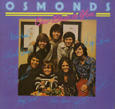 Osmonds Our Best To You vinyl LP album record UK 2315300 MGM 1974