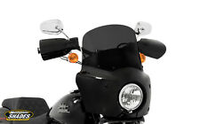 "Memphis Shades Road Warrior Complete Fairing Kit W/ 11"" Windshield  Black Mounts"