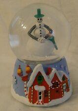 Nightmare Before Christmas JACK SKELLINGTON SNOWMAN MUSICAL WATER SNOW GLOBE NEW
