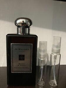 Jo Malone Myrrh & Tonka 5ml or 10ml glass travel spray