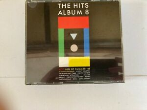 Various Artists The Hits Album 8 2 CDs Fatbox BMG 1988