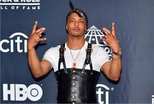 De hombre Tupac Shakur suspender rapero Chaleco de cuero genuino con colores más