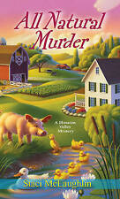 All Natural Murder (Blossom Valley Mysteries)-ExLibrary
