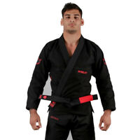 Kingz Ultralight 2.0 BJJ Gi Black Brazilian Jiu-Jitsu Gi Kimono MMA Grappling