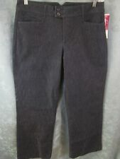Lee Riders Instantly Slims You Trouser Leg 'Fresno Denim' Jeans Size 12 NWT