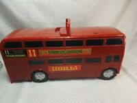 Motor Max Tranforming London Bus Micro Cars Playset Machines included