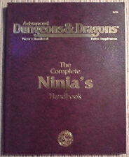 PHBR15 - The Complete Ninja's Handbook (3rd) - 2e Adv Dungeons & Dragons - TSR