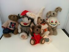 Lot 4 Boyd's Bears Bunnies Plush Sweaters + 1 other . #4