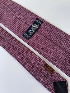 Tie hermes 758957 T Silk 100% Authentic 100% Made In France