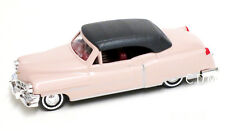 Busch 1/87 HO Scale 1952 Cadillac Coupe Convertible Rose w/Top Up #43421