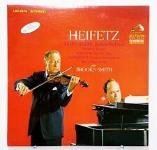 HEIFETZ & BROOKS SMITH Saint Saens Sibelius Rachmaninoff RCA STEREO 1S/2S MINT