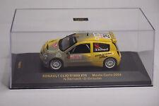 IXO RENAULT CLIO S1600 #39 MONTE CARLO 2004 1:43