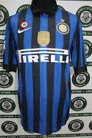 Maglia calcio INTER SNEIJDER TG S 2011/12 shirt trikot camiseta maillot jersey
