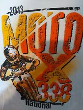 2013 Moto x 330 national  Motocross  2 sided size xl racing redbull