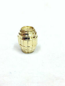 9 ct carat 375 Gold Vintage style Charm Barrel
