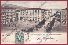MESSINA CITTÀ 244 GANZIRRI Cartolina viaggiata 1905