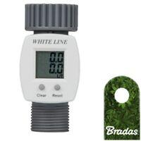 B-WARE Digitaler Wasserzähler 3/4' LCD Wasseruhr Bradas 9434 B-WARE