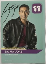 SACHIN JOAB *Ajay* HAND SIGNED NEIGHBOURS Ch11 Cast Fan Card